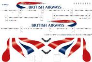 1/200 Scale Decal British Airways 747-400