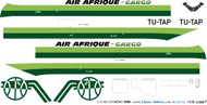 1/200 Scale Decal Air Afrique 747-200F