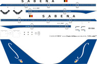 1/200 Scale Decal Sabena 747-200 Delivery