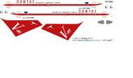 1/200 Scale Decal Qantas 767-200 Retro V-Jet