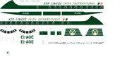 1/96 Scale Decal Aer Lingus Viscount 800