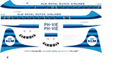 1/96 Scale Decal KLM Viscount 800