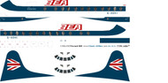 1/96 Scale Decal BEA Speekjack Viscount 800