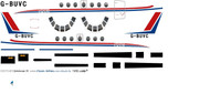 1/72 Scale Decal Eastern Airways Jetstream 31