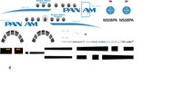 1/72 Scale Decal Pan Am / Boston-Maine Airways Jetstream 31
