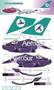 1/144 Scale Decal AeroSur 747-300 Torisimo