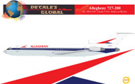 1/144 Scale Decal Allegehny 727-200