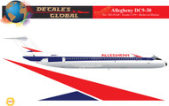 1/144 Scale Decal Allegehny DC9-30
