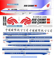1/144 Scale Decal Air China 747-8