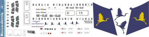 1/144 Scale Decal Air One BAe-146