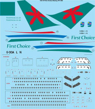 1/144 Scale Decal First Choice 767-300