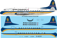 1/144 Scale Decal British Caledonian Viscount 800