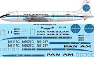 1/144 Scale Decal Pan Am DC-6B