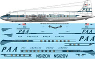 1/144 Scale Decal Pan American DC-6B