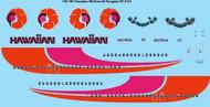 1/144 Scale Decal Hawaiian DC9-51