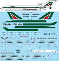 1/144 Scale Decal Alitalia Boeing 727-243