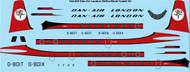 1/144 Scale Decal Dan Air London Final DeHavilland Comet 4C