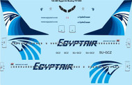 1/144 Scale Decal Egypt Air Boeing 737-800