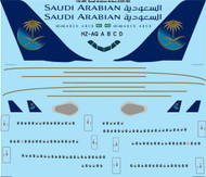 1/144 Scale Decal Saudi Arabian Airbus A330-300
