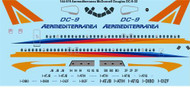 1/144 Scale Decal Aermediterranea McDonnell Douglas DC-9-32