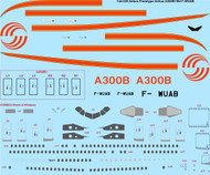 1/144 Scale Decal Airbus Prototype A300B1/B4