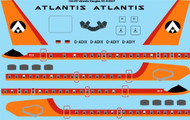 1/144 Scale Decal Atlantis Douglas DC-8-63