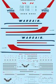 144-545 Wardair Canada Boeing 747-1D1