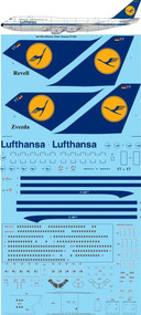 "1/144 Scale Decal LH ""Retro"" Boeing 747-830 ""Koln"""