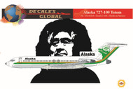 1/144 Scale Decal Alaska 727-100 Totem
