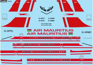 1/144 Scale Decal Air Mauritius Boeing 707-436