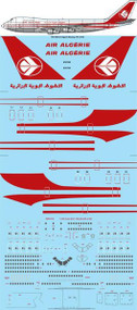 1/144 Scale Decal Air Algerie Boeing 747-273C