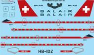 1/144 Scale Decal Balair Douglas DC-8-63