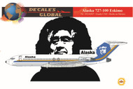 1/144 Scale Decal Alaska 727-100 Eskimo