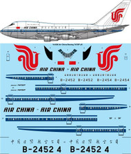 1/144 Scale Decal Air China Boeing 747SP-J6