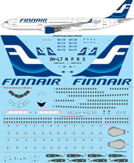 1/144 Scale Decal Finnair (early) Airbus A330-302