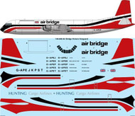 1/144 Scale Decal Air Bridge Vickers Vanguard