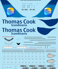 1/144 Scale Decal Thomas Cook Scandinavia Airbus A330-300