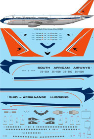 1/144 Scale Decal South African Airways Airbus A300B2K