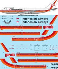 1/144 Scale Decal Garuda Indonesian Airlines Boeing 747-2U3B