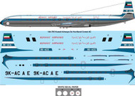 1/144 Scale Decal Kuwait Airways De Havilland Comet 4C