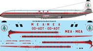 1/144 Scale Decal MEA De Havilland Comet 4C