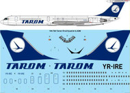 1/144 Scale Decal Tarom Final Ilyushin IL-62M