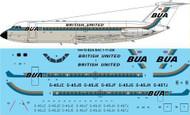 1/144 Scale Decal BUA British United BAC 1-11 200