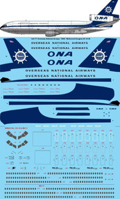 1/144 Scale Decal ONA McDonnell Douglas DC-10-30