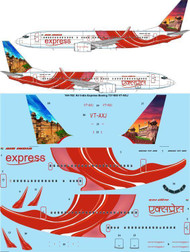 1/144 Scale Decal Air India Express Boeing 737-800 VT-AXJ