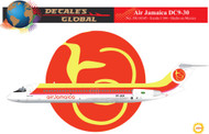 1/144 Scale Decal Air Jamaica DC9-30