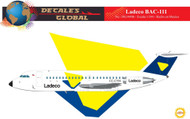 1/144 Scale Decal Ladeco BAC-111