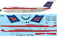 1/144 Scale Decal Cambrian Airways BAC 1-11 400