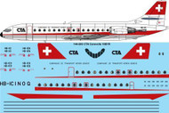 1/144 Scale Decal CTA Caravelle 10B1R