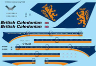1/200 Scale Decal British Caledonian Boeing 747-200